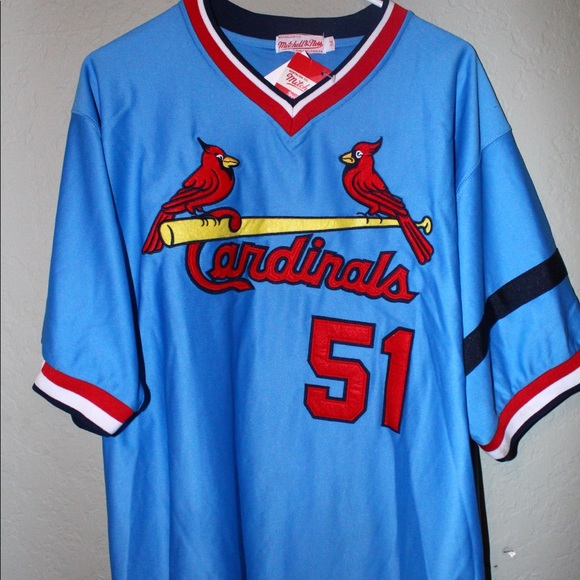 outlet store 3a447 de4e7 Throwback St. Louis Cardinals Willie McGee Jersey